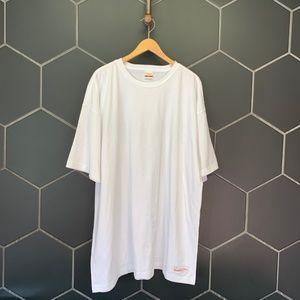 Mitchell & Ness Fine Jersey Short Sleeve White Top